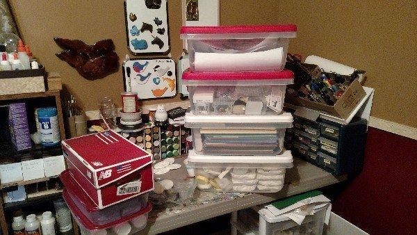 Crazy Messy Workbench