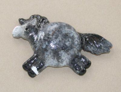 Fat Pony Magnet #028 - Dark Dapple Gray