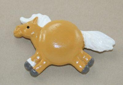 Fat Pony Magnet #040 - Palomino