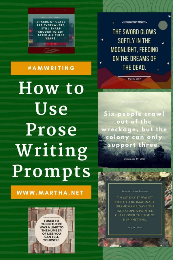 How to Use Prose Writing Prompts