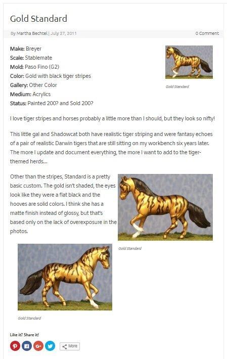 Old Gold Standard Blog Post