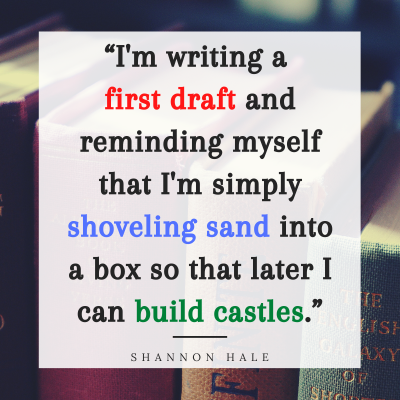 Shannon Hale Quote on Writing