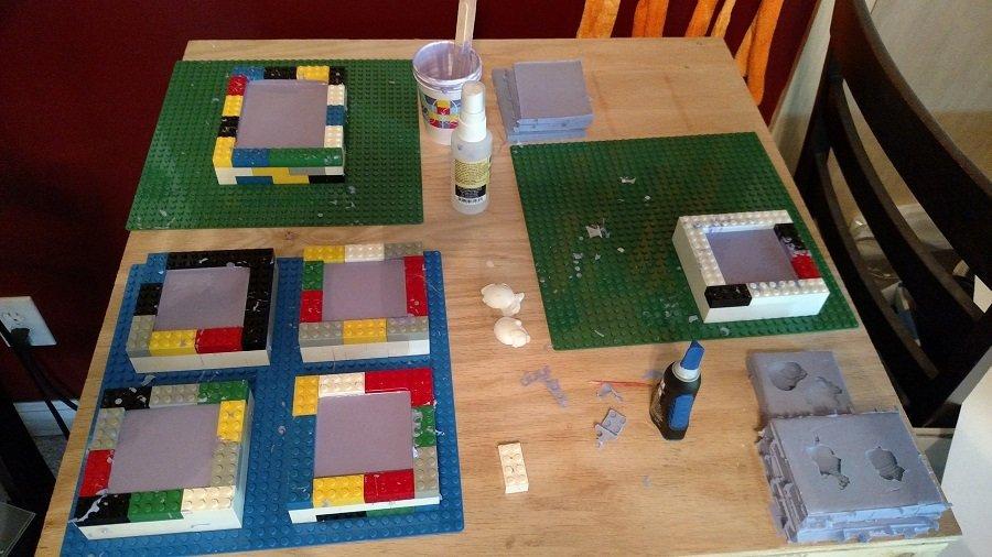OOMOO 30 Moldmaking Lego Molds