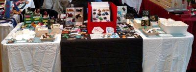 2018 United Christian Parish Craft Fair table setup