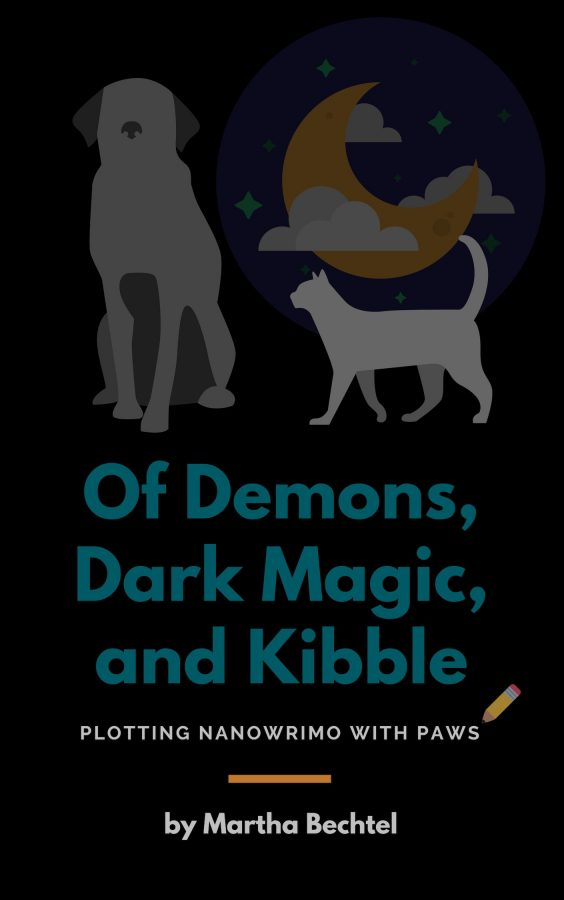 Of Demons Dark Magic and Kibble eBook cover