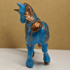 Bergkam Droom - Custom Breyer Stablemate Shire Unicorn - Martha Bechtel - Tail