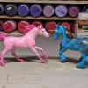 Bergkam Droom Rosalina - Custom Breyer Stablemates - Martha Bechtel - Fantasy Duo