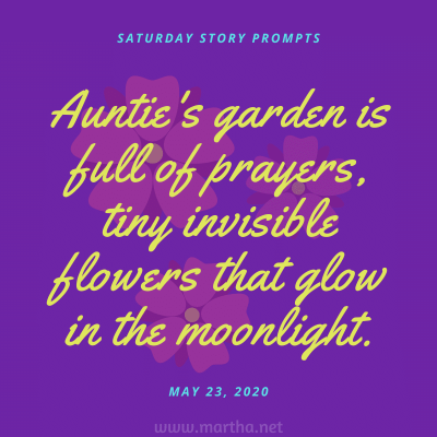 018 Saturday Story Prompts 2020-05-23
