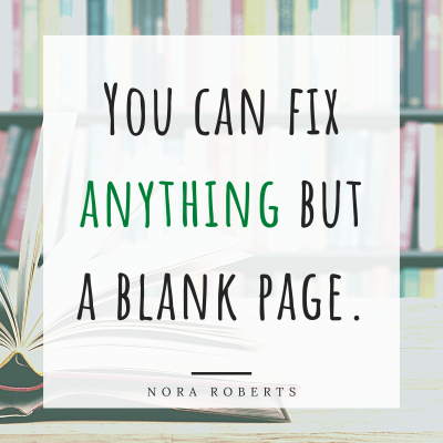 Nora Roberts Quote about Writing