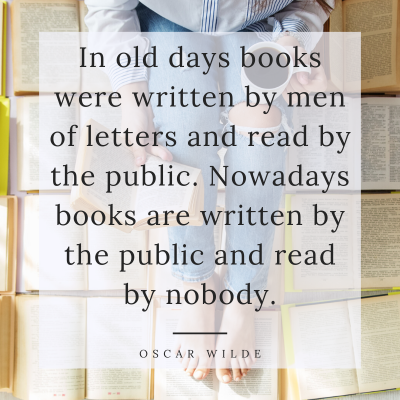 Oscar Wilde Quote about Writing