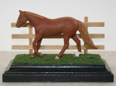 Stablemate Scale Model Horses Bases and Fencing