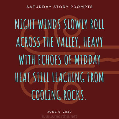 020 Saturday Story Prompts 2020-06-06