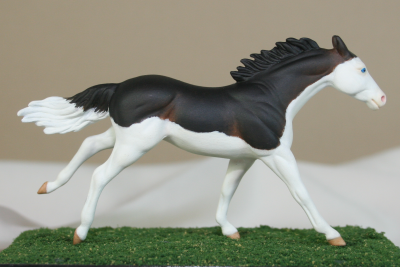 Blink - Custom Breyer Stablemate Thoroughbred - Martha Bechtel - Gallery Image