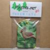 Cardinal Christmas Ornament 005 - Martha Bechtel - Front Bag Tan