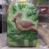 Cardinal Christmas Ornament 005 - Martha Bechtel - Front Bag White