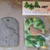 Cardinal Christmas Ornament 005 and Sculpey - Martha Bechtel