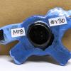 Fat Pony Magnet 130 - Flaxen Blue - Martha Bechtel - Back Brown2