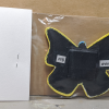 Wooden Butterfly Magnet 008 - Yellow - Martha Bechtel - Back Bag
