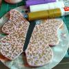 Wooden Butterfly Magnet 010 - Pink - Martha Bechtel - wip