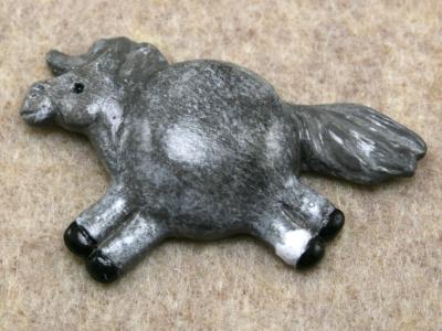 Fat Pony Magnet 075 - Martha Bechtel - Tummy