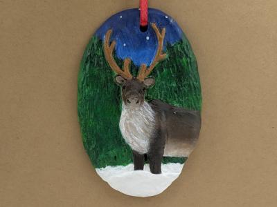 Reindeer Ornament 008 - Gallery Image