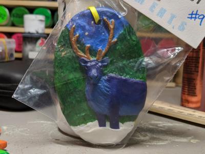 Reindeer Ornament 009 – Gallery Image