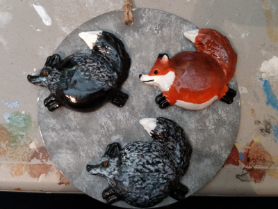 Fat Fox Magnets - Gallery Image