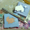 Fat Fox Magnets - Resin Casting 2