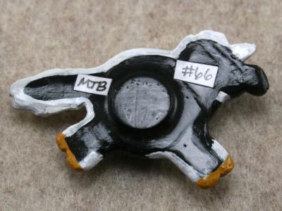Fat Pony Magnet 066 - Martha Bechtel - Back Tan