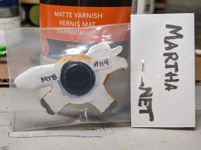 Fat Pony Magnet 114 - Martha Bechtel - Back Bag