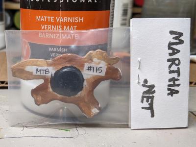 Fat Pony Magnet 115 - Martha Bechtel - Back Bag