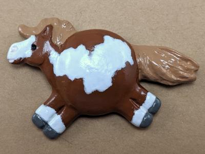 Fat Pony Magnet 116 - Martha Bechtel - Front Tan
