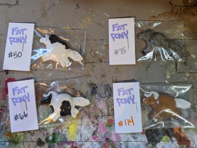 Fat Pony Magnets 050 075 066 114 - Martha Bechtel - Group shot