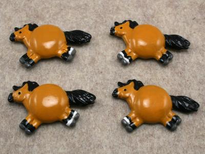 Fat Pony Magnets 068 069 070 071 - Martha Bechtel - Group shot