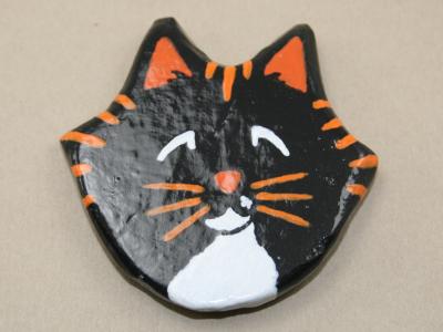 Flat Cat Head 008 - Gallery Image