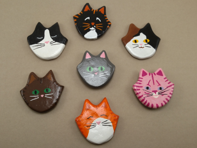 Flat Cat Heads - Product Category Image