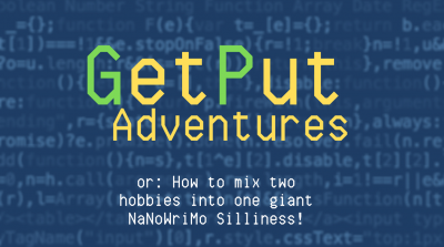 GetPut Adventures NaNoWriMo Banner