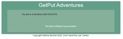 GetPut Adventures - In The Beginning Screenshot