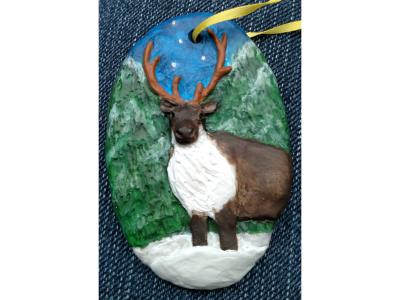 Reindeer Ornament 001 – Gallery Image