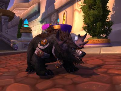 Bear Moose Form - World of Warcraft