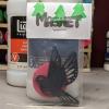 Bird Circles 001 - Martha Bechtel - Front Bag