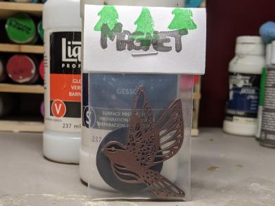 Bird Circles 002 - Martha Bechtel - Front Bag