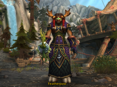 World of Warcraft - Highmountain Resto Druid - Featherpaw - Level 10