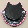 Flat Cat Head 003 - Martha Bechtel - Back Tan