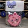 Flat Cat Head 003 - Martha Bechtel - Bag Front