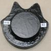 Flat Cat Head 005 - Martha Bechtel - Back tan