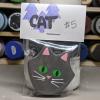 Flat Cat Head 005 - Martha Bechtel - Bag Front