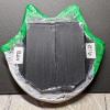 Flat Cat Head Magnet 016 - Martha Bechtel - Back Black
