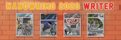 NaNoWriMo 2020 Writer Banner Twitter