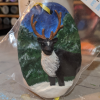 Reindeer Ornament 003 - Martha Bechtel - Front Bag Angle